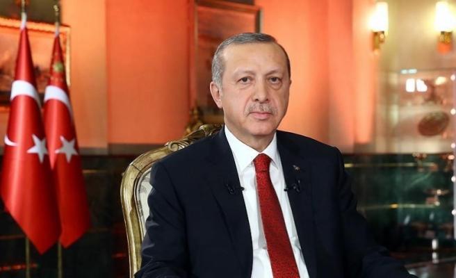 Erdoğan, down sendromlu çocukları kabul etti