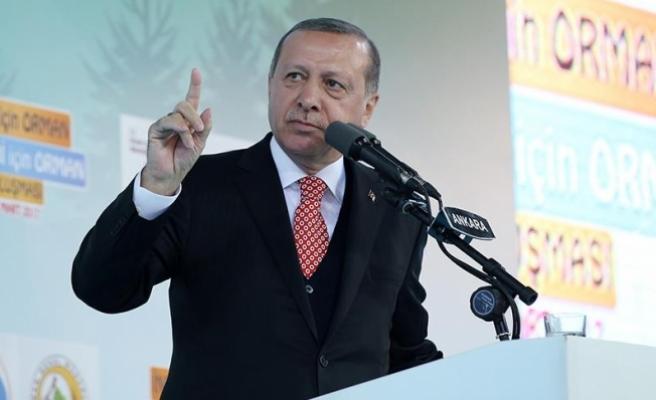 Erdoğan: Sistemi bir yeri kapatmak için değil, ülkenin önünü açmak için getiriyoruz