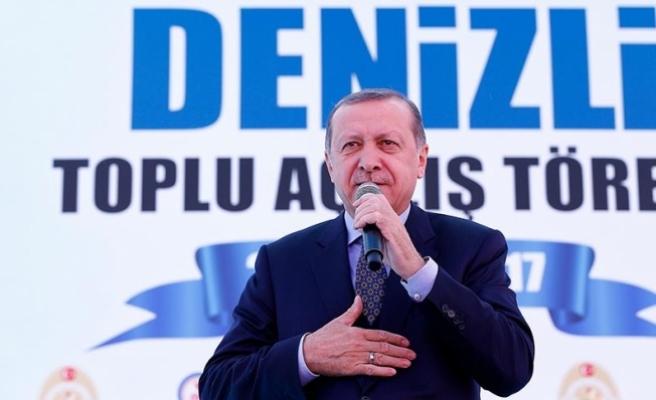 Erdoğan: Türkiye için 16 Nisan düğün günüdür, bayram günüdür