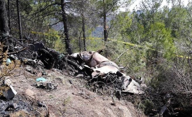 Hatay'a düşen Suriye uçağının karakutusu bulundu