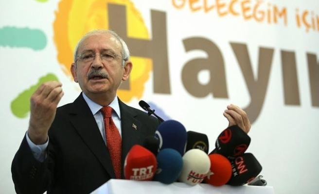 Kılıçdaroğlu: Geleceğimiz, çocuklarımız, demokrasimiz için hayır oyu vereceğiz