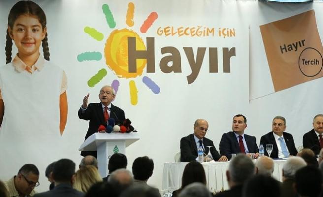 Kılıçdaroğlu: Hep birlikte daha fazla demokrasi istiyoruz