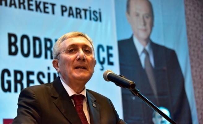 MHP'li Ayhan: Devlet için 'evet', millet için 'evet', Cumhuriyet için 'evet', Türklük için 'evet' diyoruz