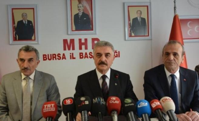 MHP'li Büyükataman: Rüzgâr eken fırtına biçmeye razı olmalıdır