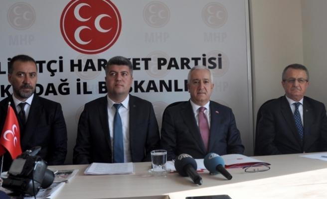 MHP'li Durmaz: Anayasa değişikliğini Türkiye için istiyoruz