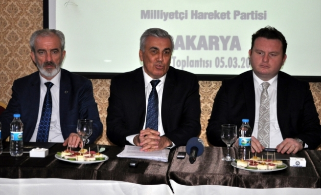 MHP'li Günal: En büyük hakemin yüce Türk milleti olduğunu düşünüyoruz