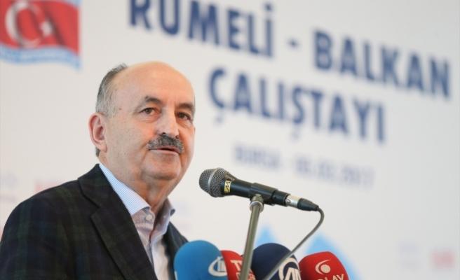 Çalışma ve Sosyal Güvenlik Bakanı Müezzinoğlu: Büyük güç cesur olmaktır