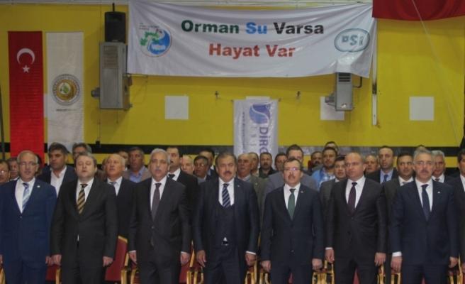 Orman ve Su İşleri Bakanı Eroğlu Manisa'da: