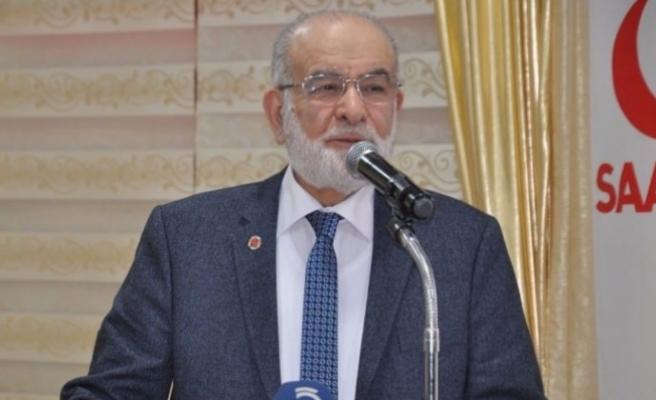 Saadet Partisi Genel Başkanı Temel Karamollaoğlu : Ne oldu da Yenikapı ruhu kayboldu?