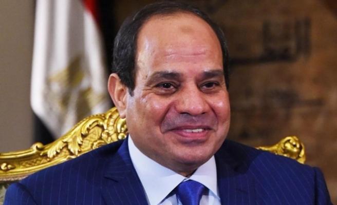 Sisi, Dünya Yahudi Kongresi Başkanı Lauder ile görüştü