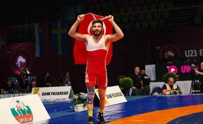Süleyman Atlı Avrupa Şampiyonu oldu