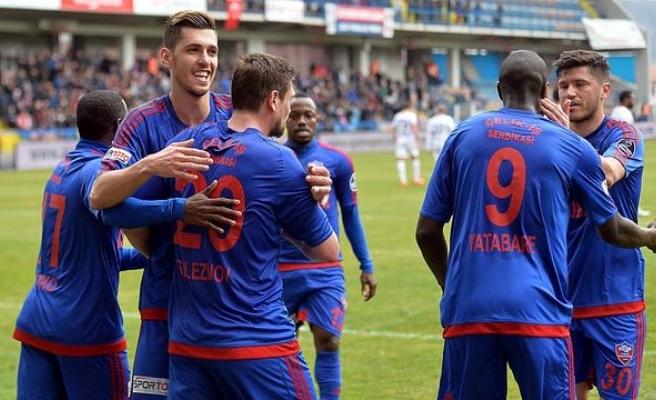 Süper Lig'de Kardemir Karabükspor, Adanaspor'u 2-0 Yendi