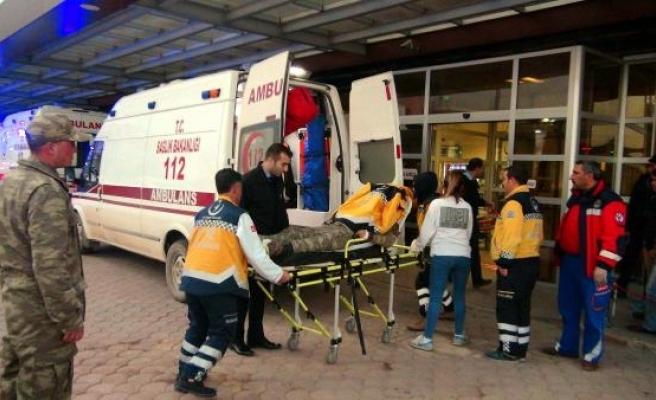 Suriye sınırında mayın patladı: 2 asker yaralı