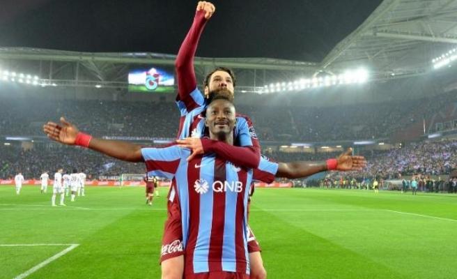 Trabzonspor 2'nci yarının rekoru peşinde
