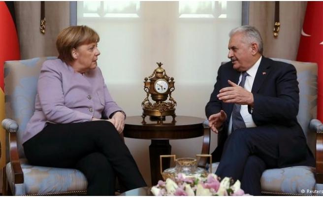Yıldırım'dan Merkel İle Görüşmesi Sonrası Açıklama: İyi Ve Verimli Geçti