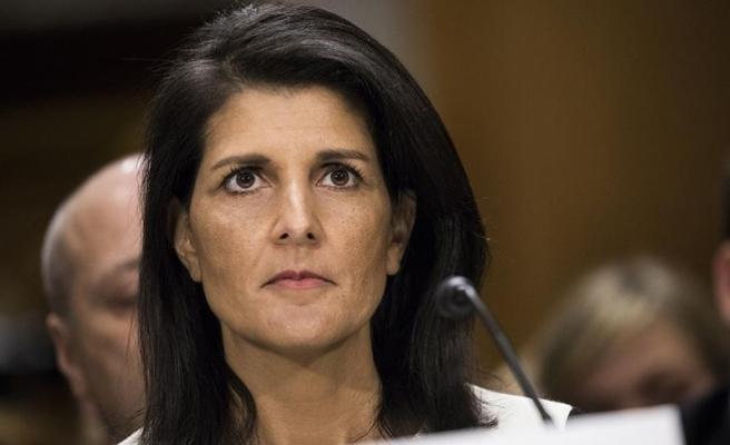 ABD'nin BM Daimi Temsilcisi Haley'den 'Esed' açıklaması