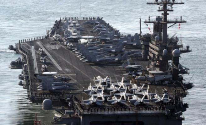 ABD Savaş Gemileri Kuzey Kore'ye Yaklaşıyor! Güney Çin Denizi'nden Geçti