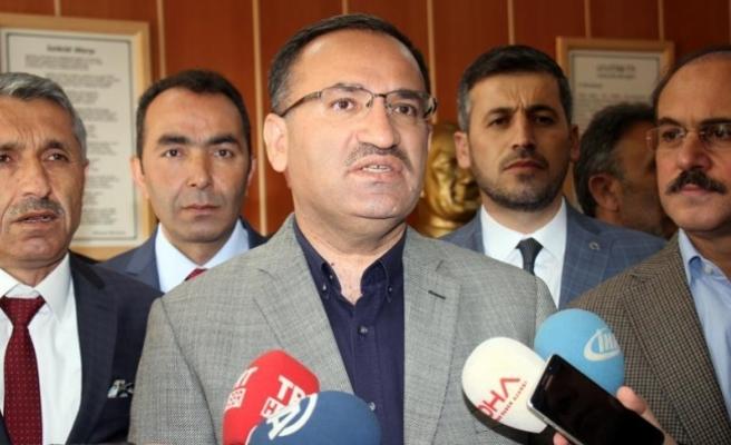 Adalet Bakanı Bozdağ: Türk Anayasası'nda fesih kavramı yoktur