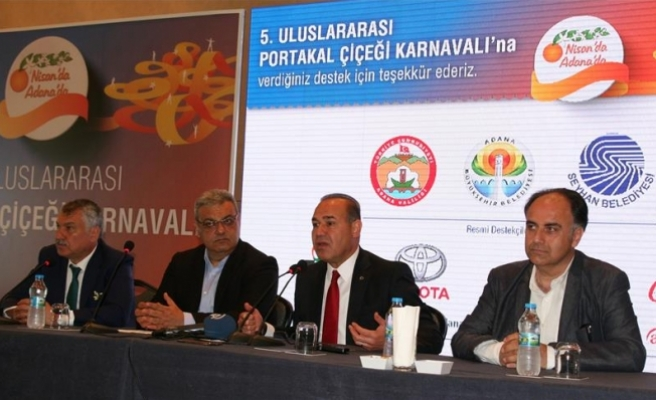 Adana 5. Uluslararası Portakal Çiçeği Karnavalı 7-9 Nisan'da