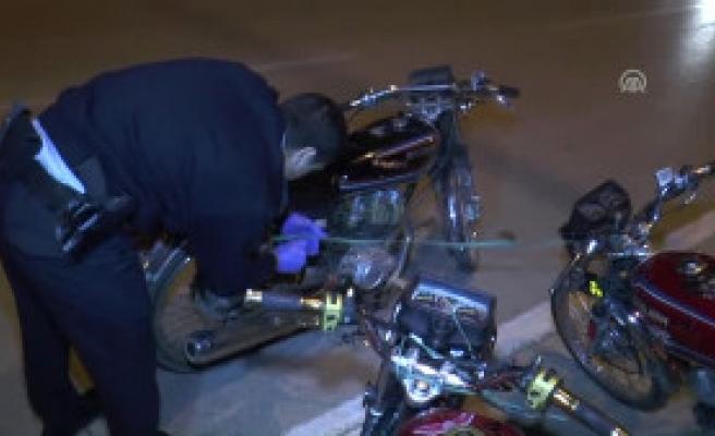 Adana'da Motosiklet Hırsızlığı