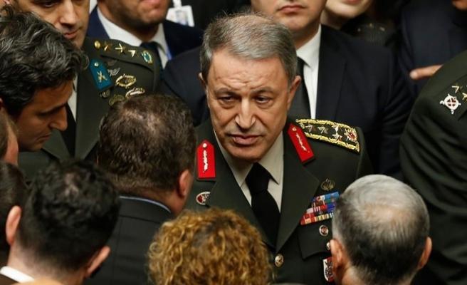 Akar: Terör operasyonlarında kahramanlıklar devam ediyor