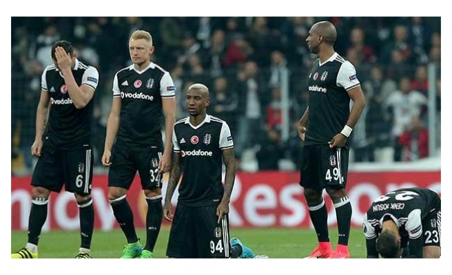 """Beşiktaşlı futbolcu Talisca:  """"Avrupa'dan başımız dik ayrılıyoruz"""""""