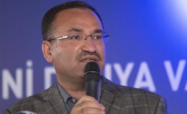Adalet Bakanı Bozdağ: CHP öcü siyaseti yapıyor