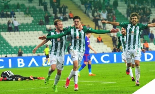Bursaspor- Kardemir Karabükspor: 3-0