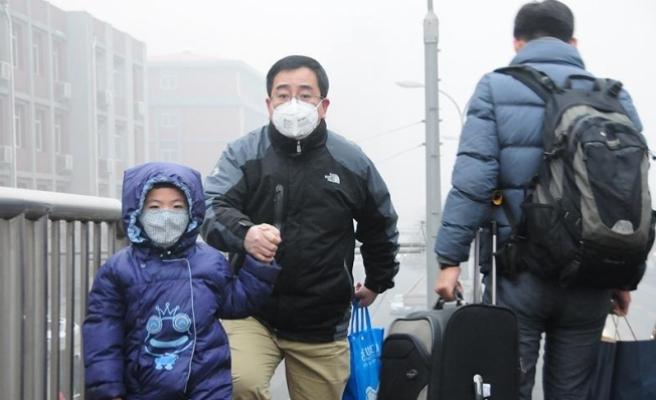Çin'de hava kirliliği nedeniyle turuncu alarm verildi