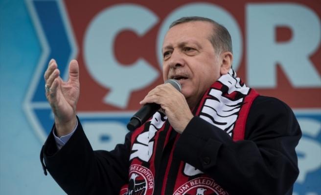 Cumhurbaşkanı Erdoğan: Kılıçdaroğlu, sen niye kaçıp gittin