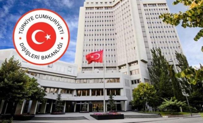Dışişleri Bakanlığı: AGİT'in açıklamasındaki siyasi içerikli ve itham edici ifadeler üzüntüyle karşılanmıştır