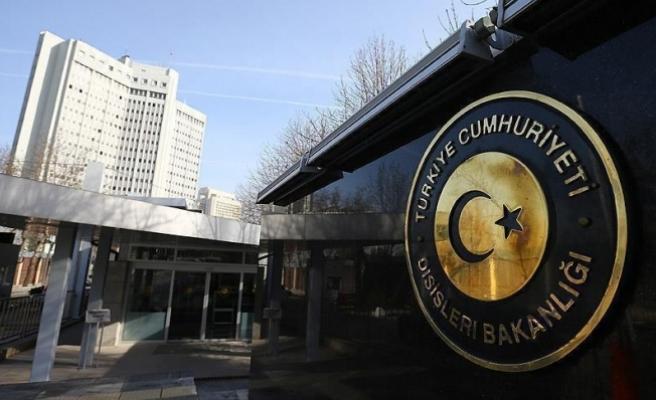 Dışişleri Bakanlığı, balistik füze denemesini kınadı