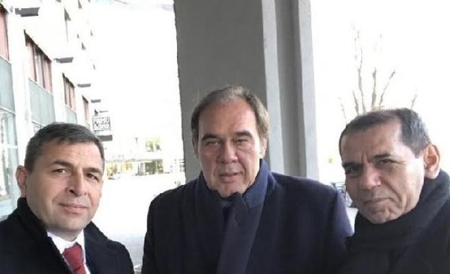 Dursun Özbek, UEFA Başkanı Ceferin ile bir araya geldi
