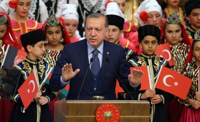 Erdoğan: Çocuğun olduğu yerde biz başka bir ölçü aramayız