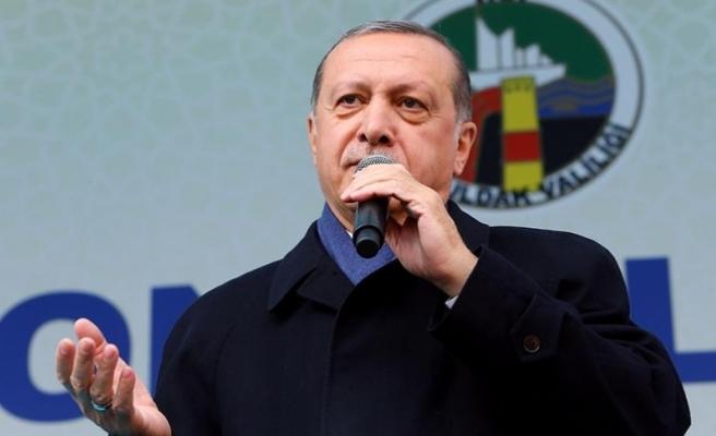 Erdoğan: Kerkük'teki yanlıştan bir an önce dönün