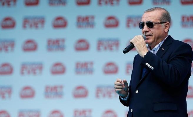 Erdoğan: Kimi denize döküyorsun görelim