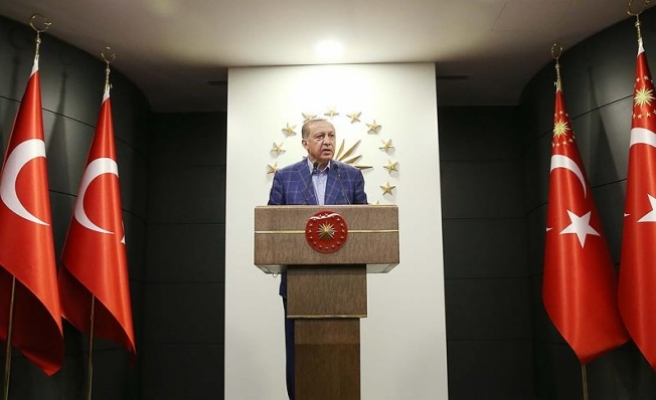 Erdoğan: Sonuçların ülkemiz ve milletimiz için hayırlı olmasını diliyorum