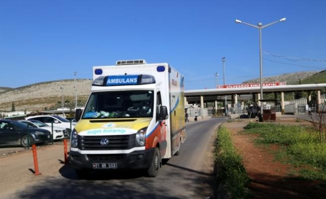 Kimyasal saldırıdan etkilenip Türkiye'ye getirilen kişi sayısı 32'ye ulaştı