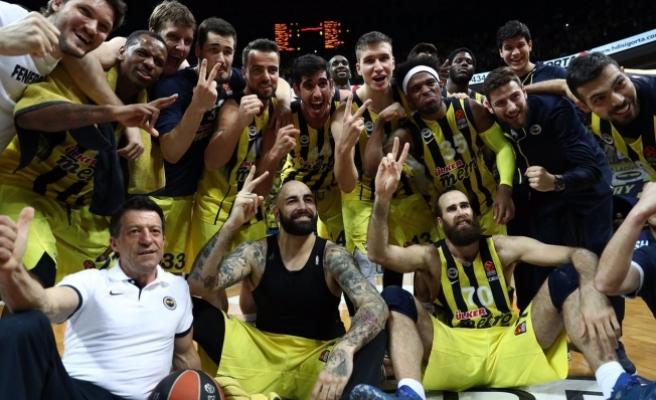 Fenerbahçe Erkek Basketbol Takımı Üst Üste 3. Kez Dörtlü Final'e Yükselen İlk TÜRK Takımı Odu.