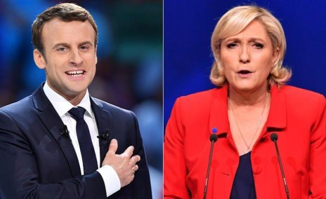 Fransa cumhurbaşkanlığı seçiminde Macron ve Le Pen ikinci turda
