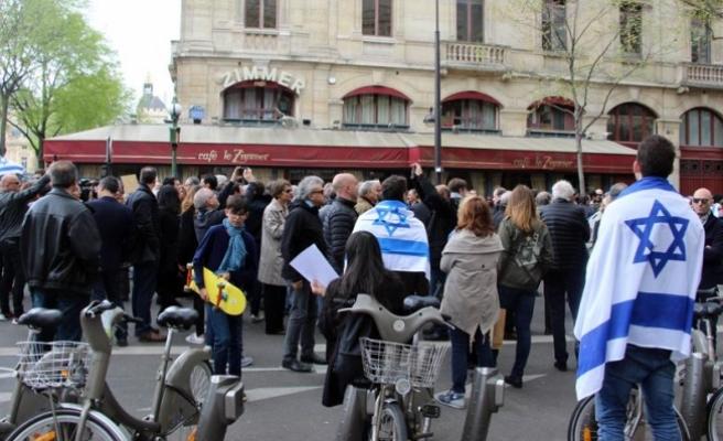 Fransa'da Filistin karşıtlarından AA muhabirine saldırı
