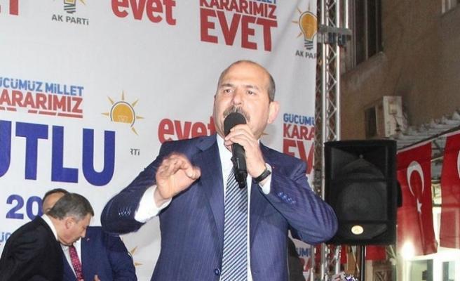 İçişleri Bakanı Soylu: Bugün özerklikten bahsedin de boyunuzun ölçüsünü alın