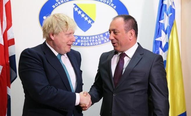İngiltere Dışişleri Bakanı Johnson: Balkanlar'da barış, İngiltere için önemli