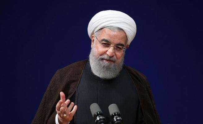 İran Cumhurbaşkanı Ruhani'den ABD'ye 'Suriye' eleştirisi