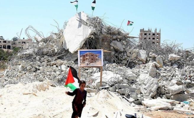 İsrail'in Gazze'de yıktığı evlerin yüzde 75'i imar edildi