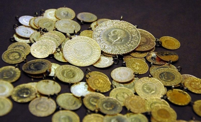 Altının kilogramı 158 bin 950 liraya geriledi