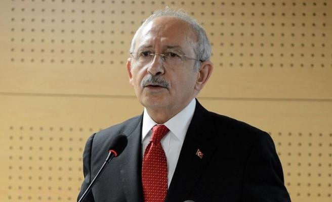 Kılıçdaroğlu: Suriye'deki rejimin rolünün belirlenmesi hepimizin ortak görevi