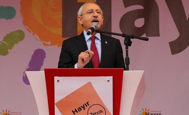Kılıçdaroğlu: Yüzde 10 olan seçim barajı kalkmalı