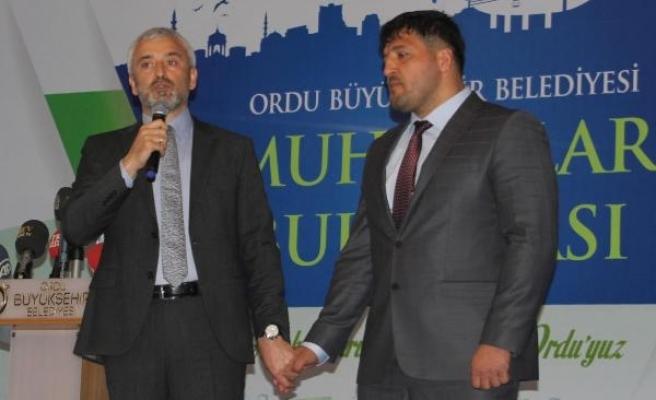 Kırkpınar Başpehlivanı Recep Kara, Ordu Belediyesi Spor Daire Başkanı oldu