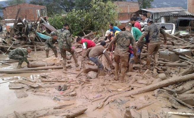 Kolombiya'daki sel felaketinde ölü sayısı 293'e çıktı